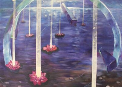 The_new_dawn_(sold).Acrylic on canvas . 140_ x 100_