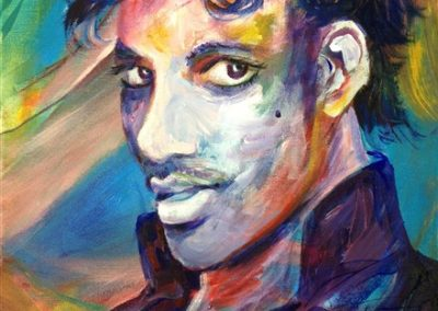 prince.Acrylic on canvas.12_ x 16_. prints available